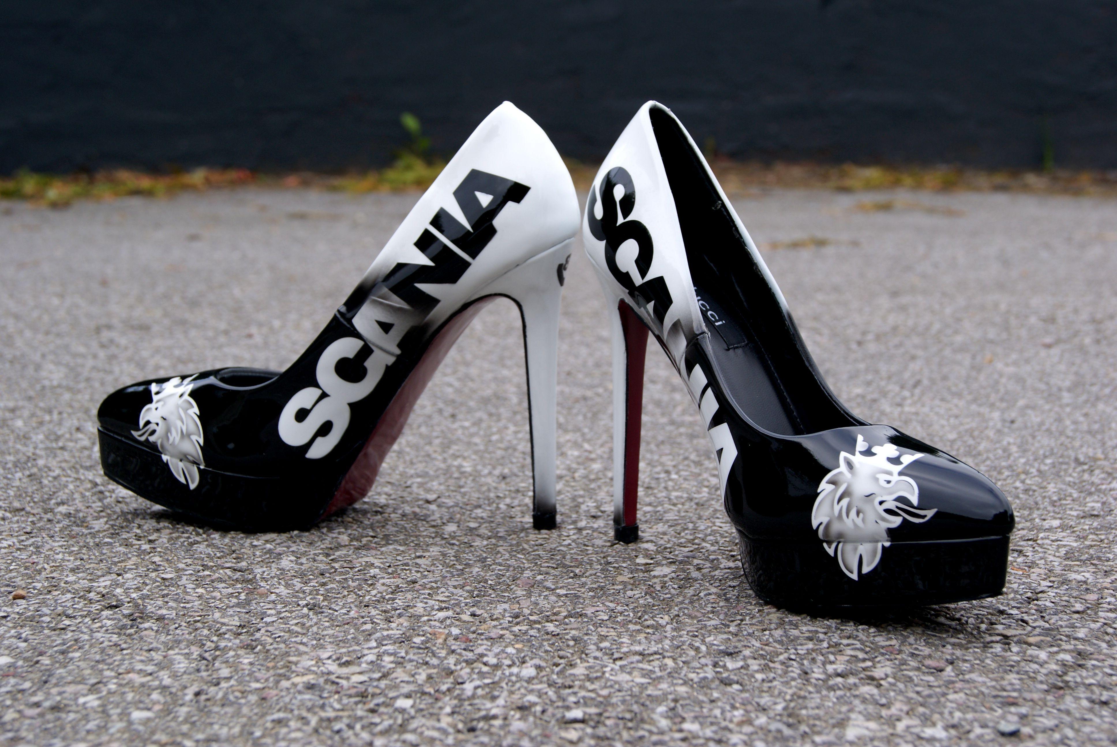 Custom Boots Shoes Escarpins Heels Scania Shoe Heels FdqvF64