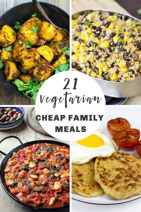 Its not always easy to cook for families especially as a vegan or vegetarian It often gets expensive too To help out weve compiled a collection of our favourite cheap fam...
