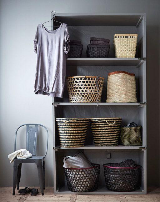 Houten stellingkast - vtwonen Studio Pinterest - schrank wohnzimmer wei amp atilde amp yuml