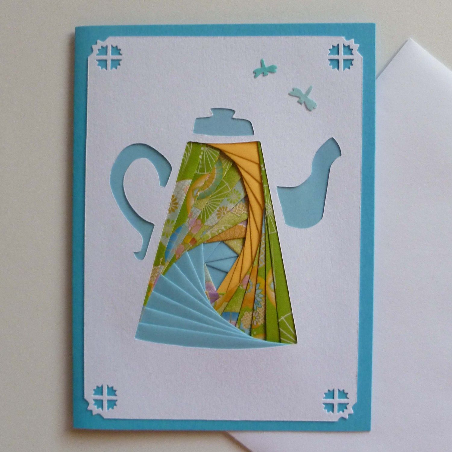 Folding Card Making Ideas Part - 25: Iris Paper Folding - With Some Modification This Could Be Cute.. Also - @