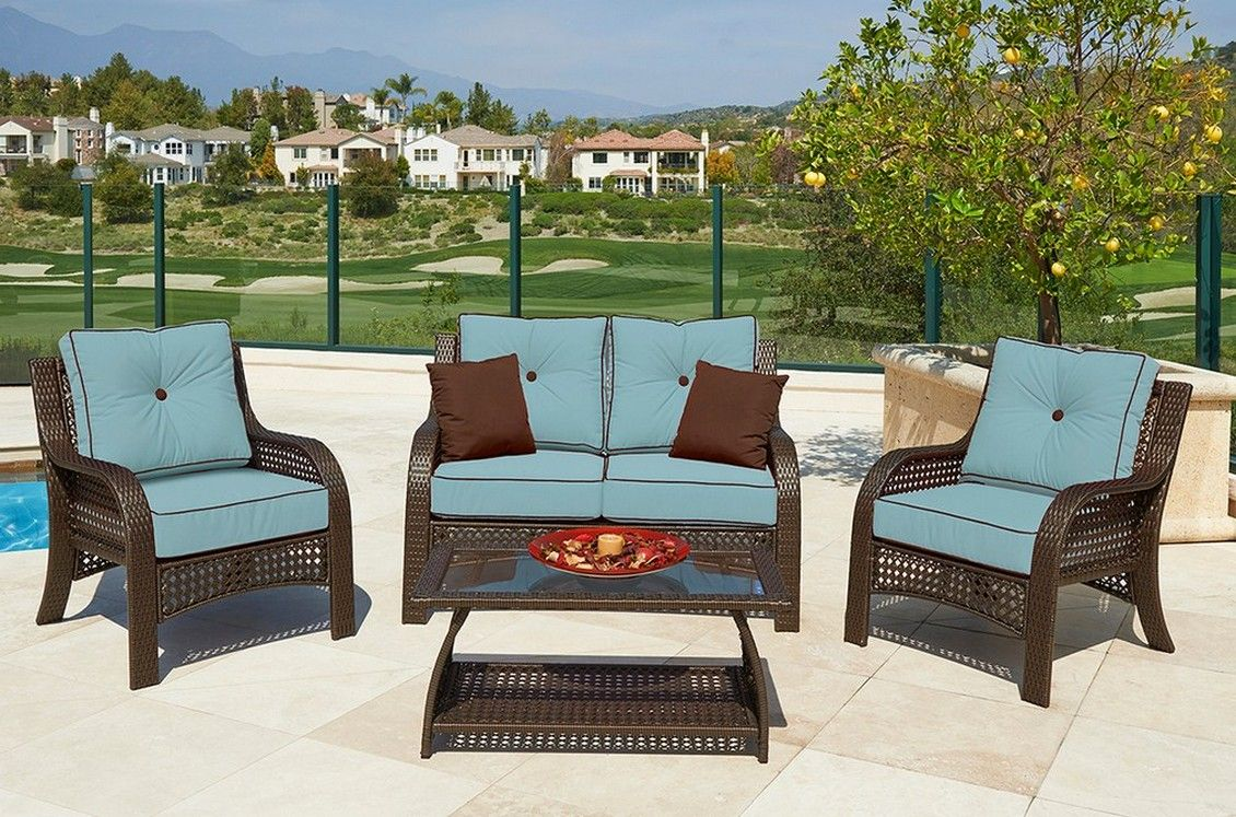 Garden treasures patio furniture replacement cushions for Patio furniture cushions