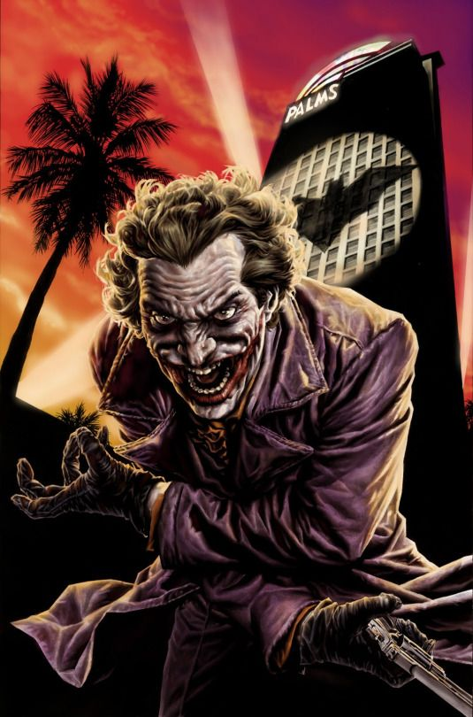 The joker by Lee Bermejo.