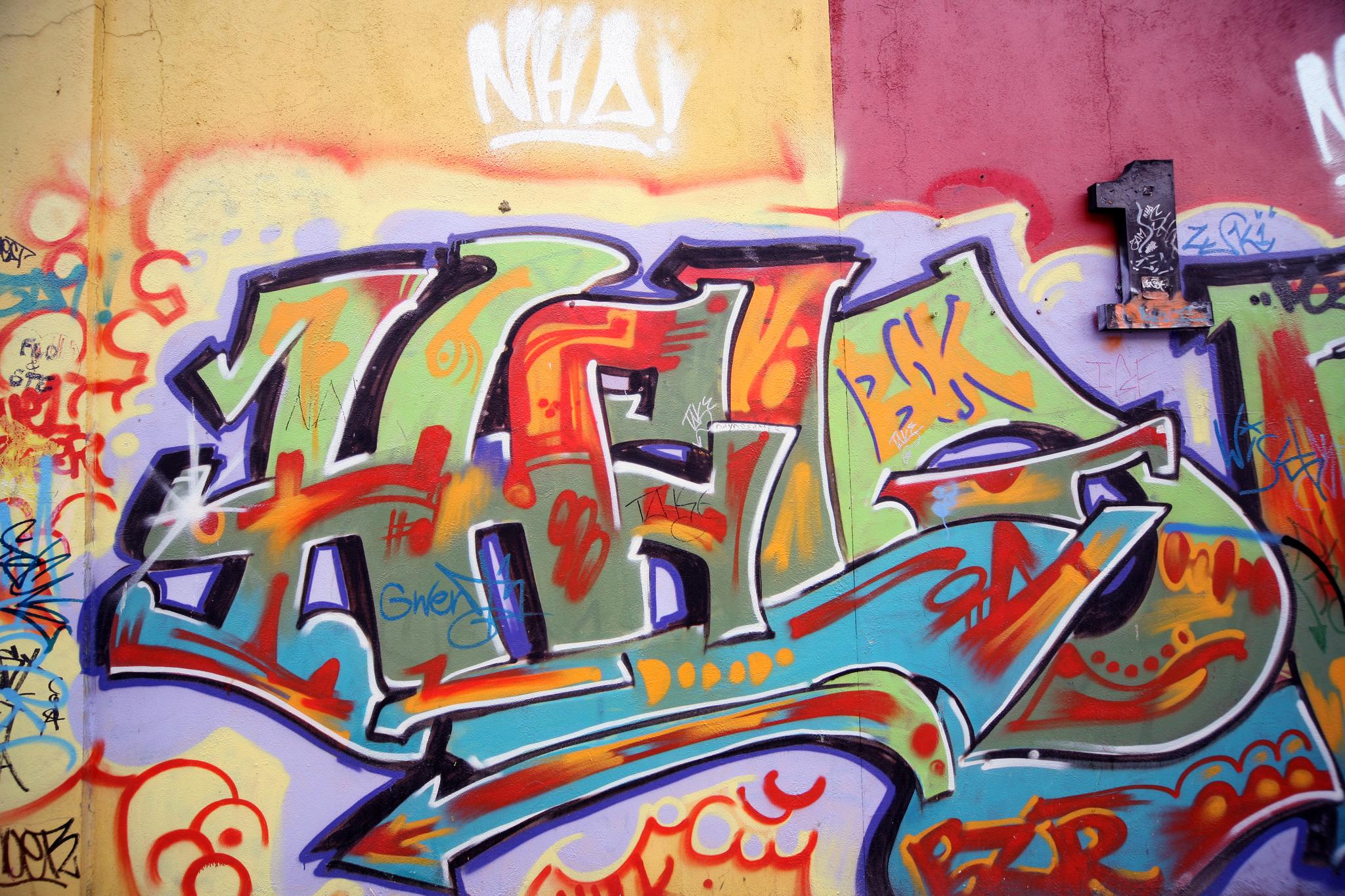 U2 graffiti wall location - U2 Wall