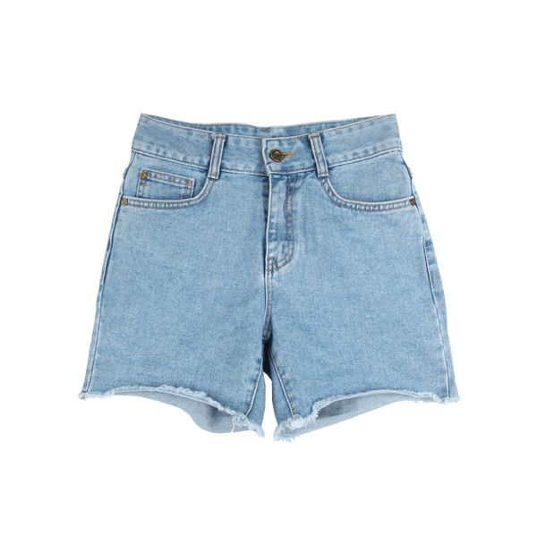 [STYLENANDA EN] (£36) ❤ liked on Polyvore featuring shorts, bottoms, clothes - shorts and pants
