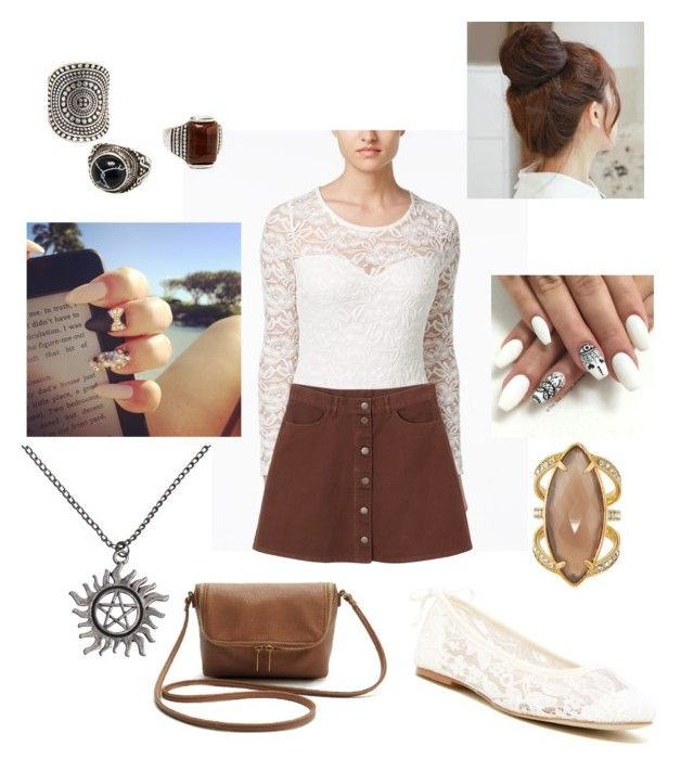 """""""Halo heavy"""" by asoles2011 ❤ liked on Polyvore featuring Material Girl, Monki, Soludos, MANGO, Pin Show and Henri Bendel"""