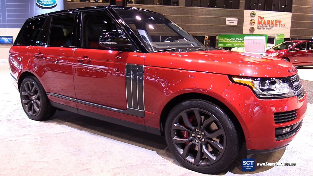 2017 Range Rover SV Autobiography Dynamic Exterior