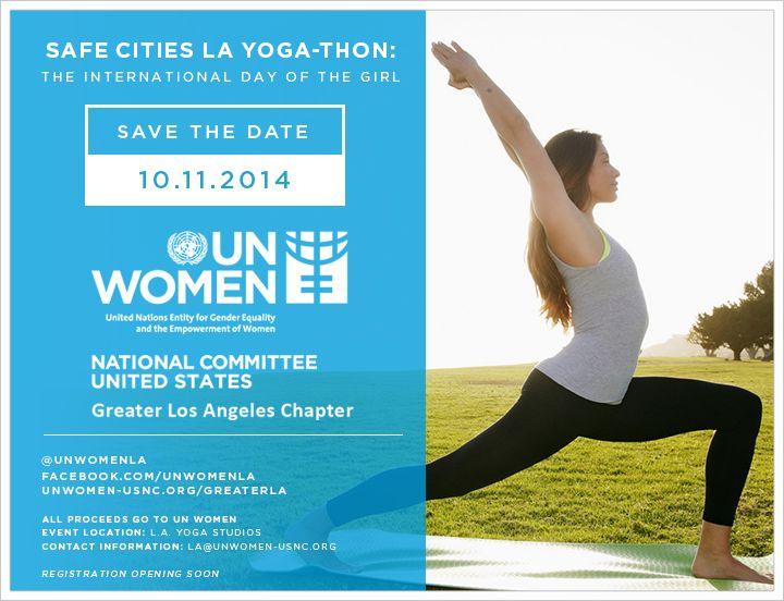 Safe Cities La Yogathon Safe Cities Event Location City