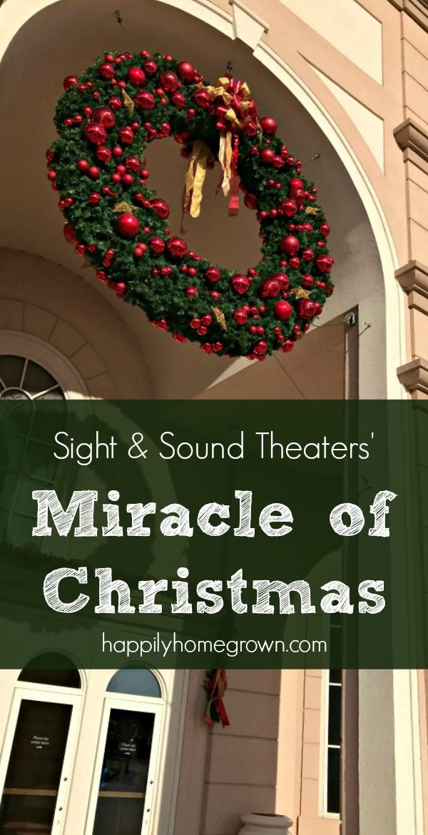sight sound theaters lancaster pa branson mo brings miracle of christmas to