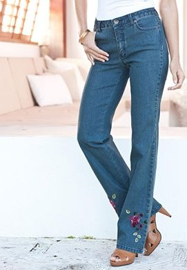 Rose embroidered jeans machine embroidery pinterest rose rose embroidered jeans ccuart Gallery