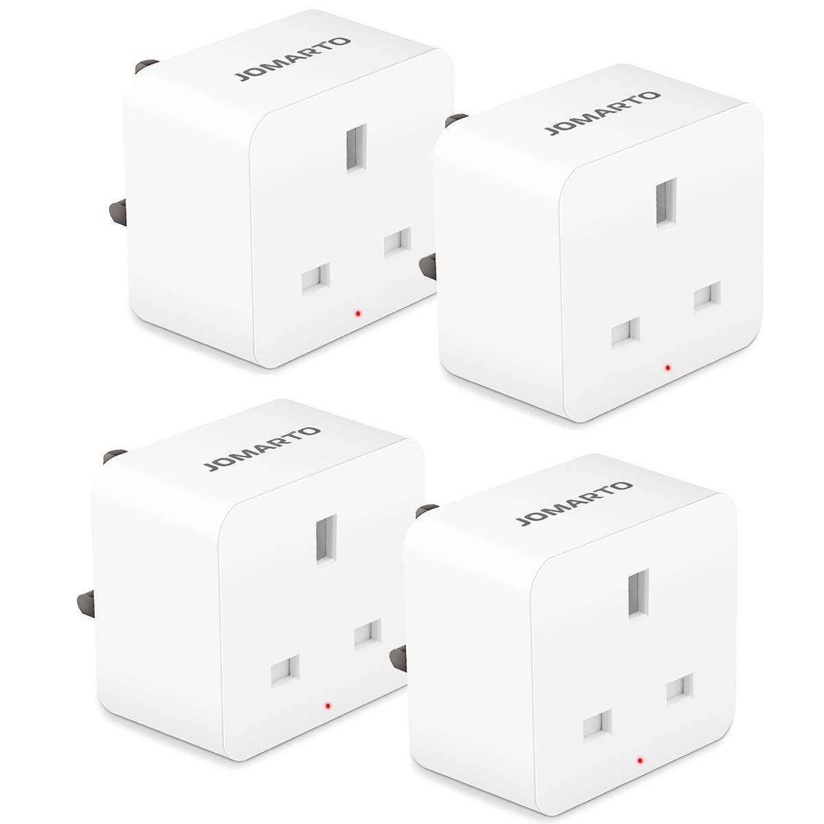 WiFi Smart Plug, JOMARTO Smart Socket Compatible with Alexa