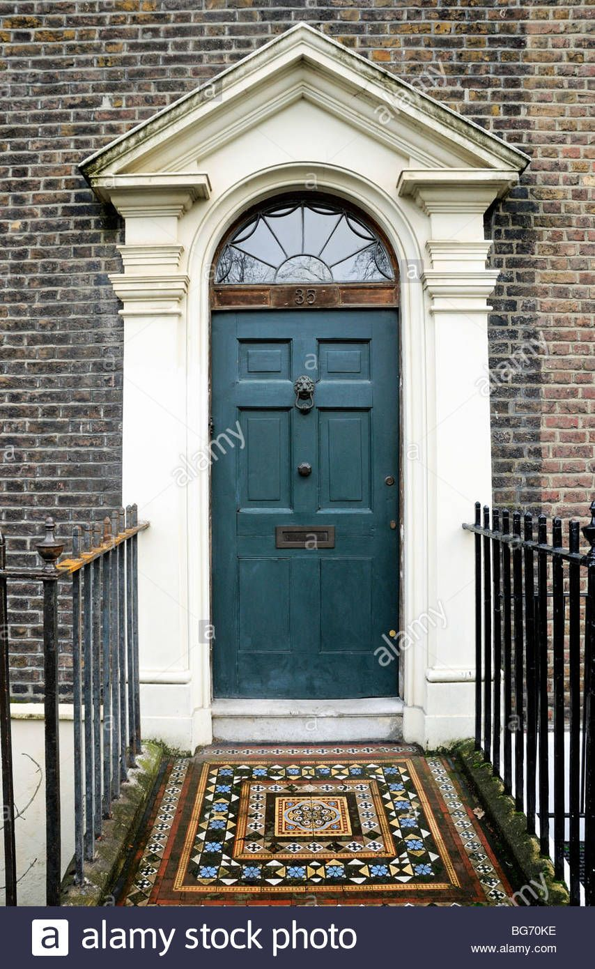 Image result for georgian front door london | Dollhouse Entrance ...