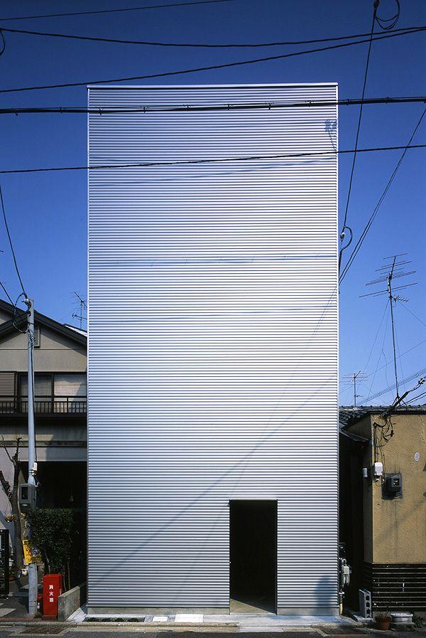 W Window House, Kyoto, Japan by Alphaville Architects