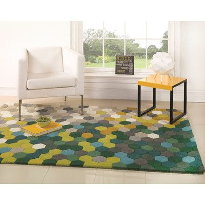 Home Essence Illusion Multi Tufted Rug   Wayfair UK