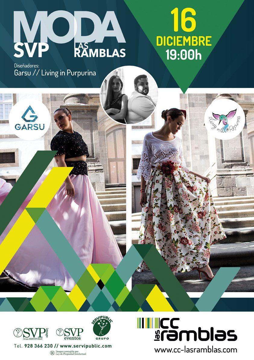 Mañana día 16 a las 19:00 h. Moda CC Las Ramblas (Fiesta de Navidad)