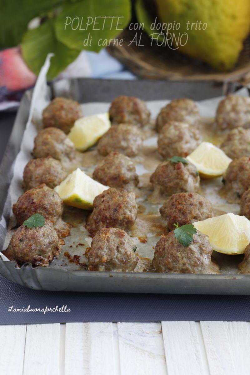 Photo of Polpette con doppio trito di carne al forno