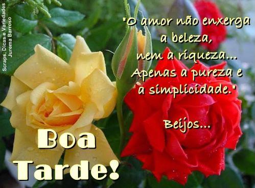 Boa Tarde Amor Com Imagens Boa Tarde Boa Tarde Com Flores