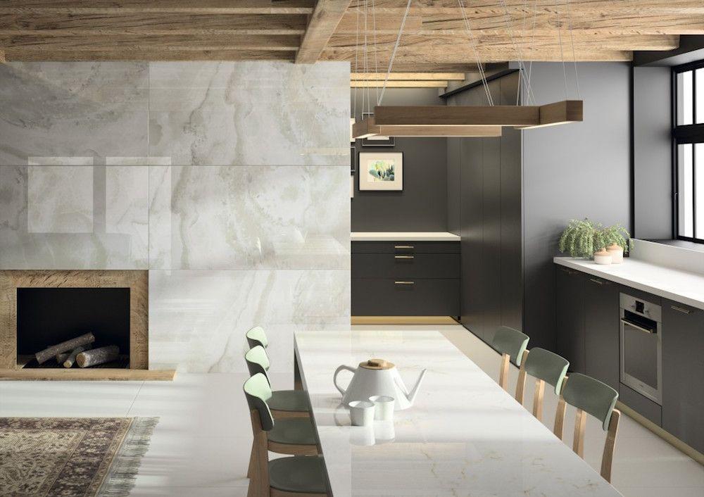 De Marmer Trend : Trend in de keuken marmer dekton xgloss via arte shiny happy