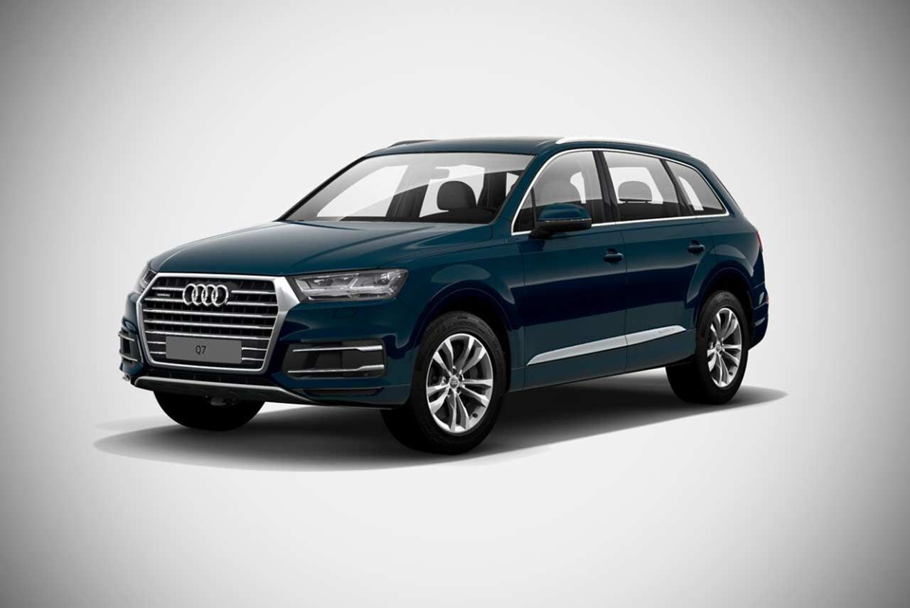 Audi The German Luxury Car Manufacturer Has Launched The Lifestyle Editions Of The Audi Q7 Suv And The Audi A4 Sedan In India Small Luxury Cars Audi Audi Q7