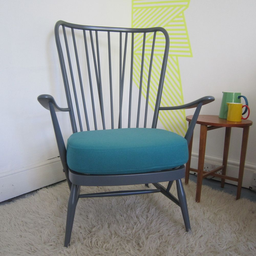 Rejuvenated Ercol Evergreen Easy Chair IRD Project Pinterest