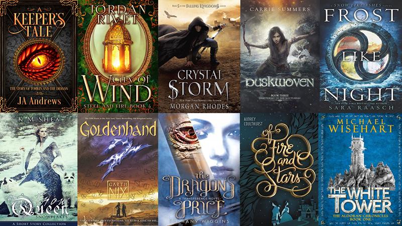 Top 20 Epic Fantasy Books not written by J.R.R. Tolkien