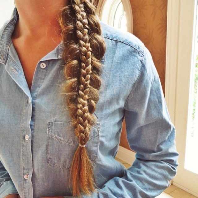 Double braid..... So cool