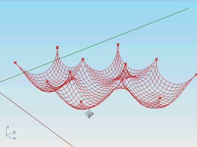 Kangaroo - Funicular Structure. http://spacesymmetrystructure.wordpress.com/2010/01/21/kangaroo/