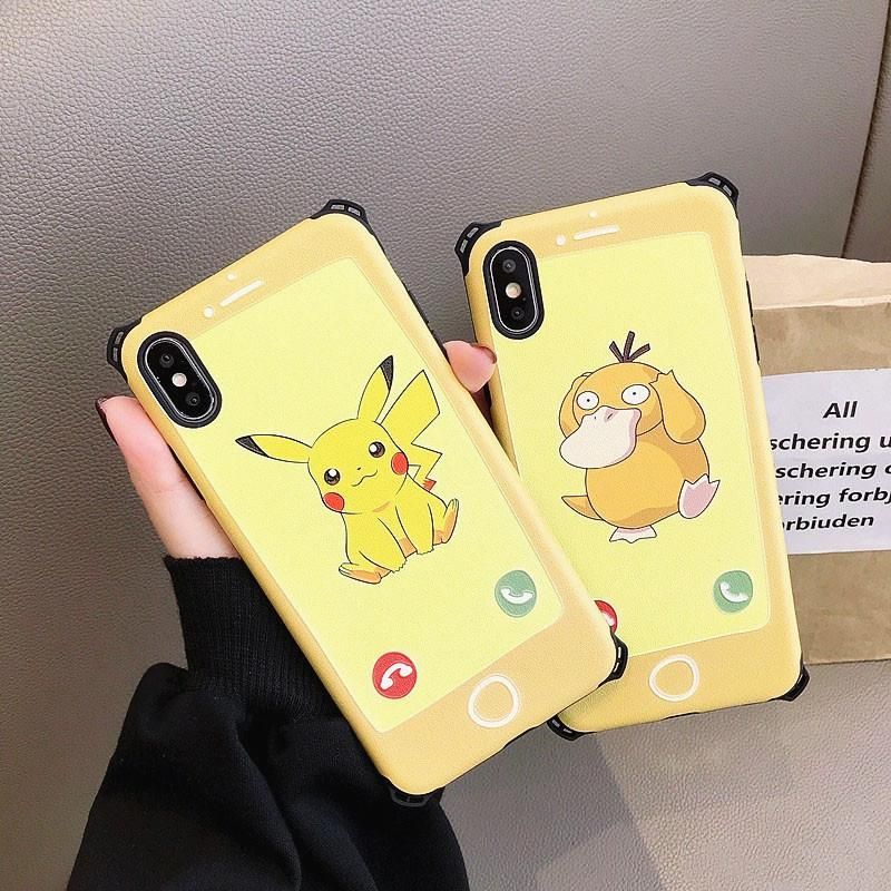 Cartoon pokemon phone case for iphone77plus88pxxsxr