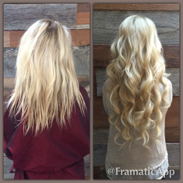 Before And After 22 Inch Tap Extensions And Full High Light 22