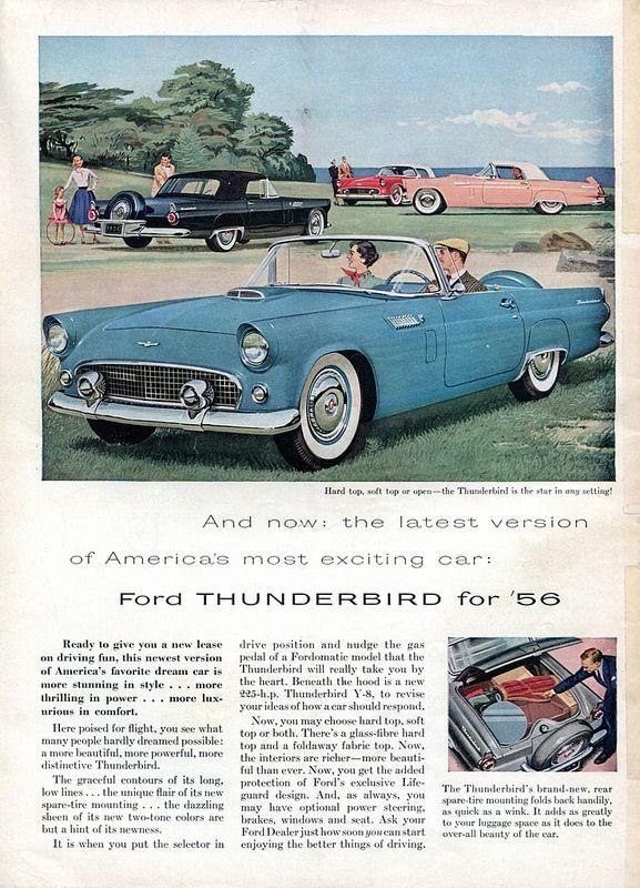 1961 Ford Thunderbird Images Photo 61 Ford Tbird Dv 06 Wg 01 Jpg Classic Cars Ford Thunderbird Vintage Cars