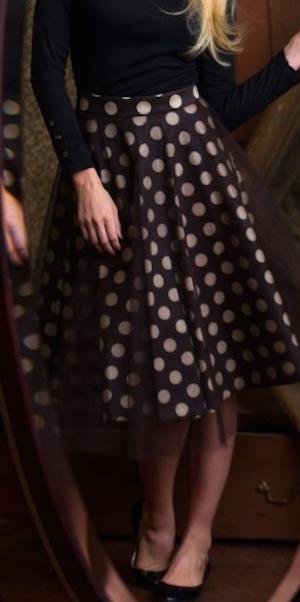 adorable polka dot skirt http://rstyle.me/n/pdxmrr9te