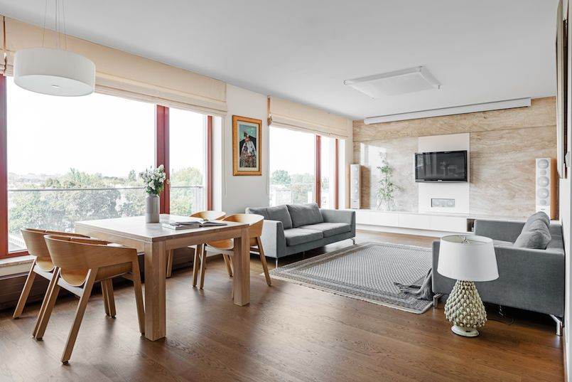 Dwie Sofy W Salonie Home Decor Interior Furniture