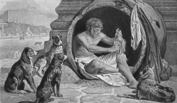 Greek Philosopher Diogenes Of Sinope Photo By Kean