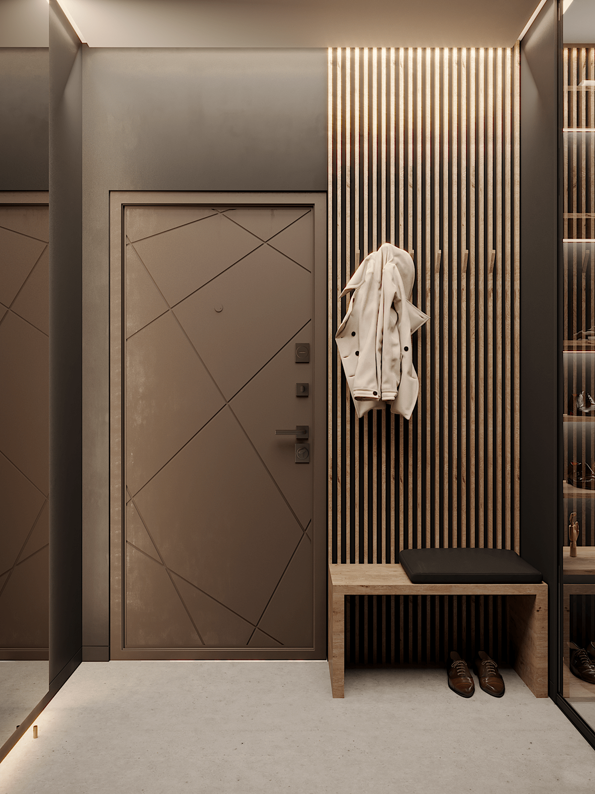 Dy Apartment On Behance Best Home Interior Design Interior Design Apps Home Entrance Decor