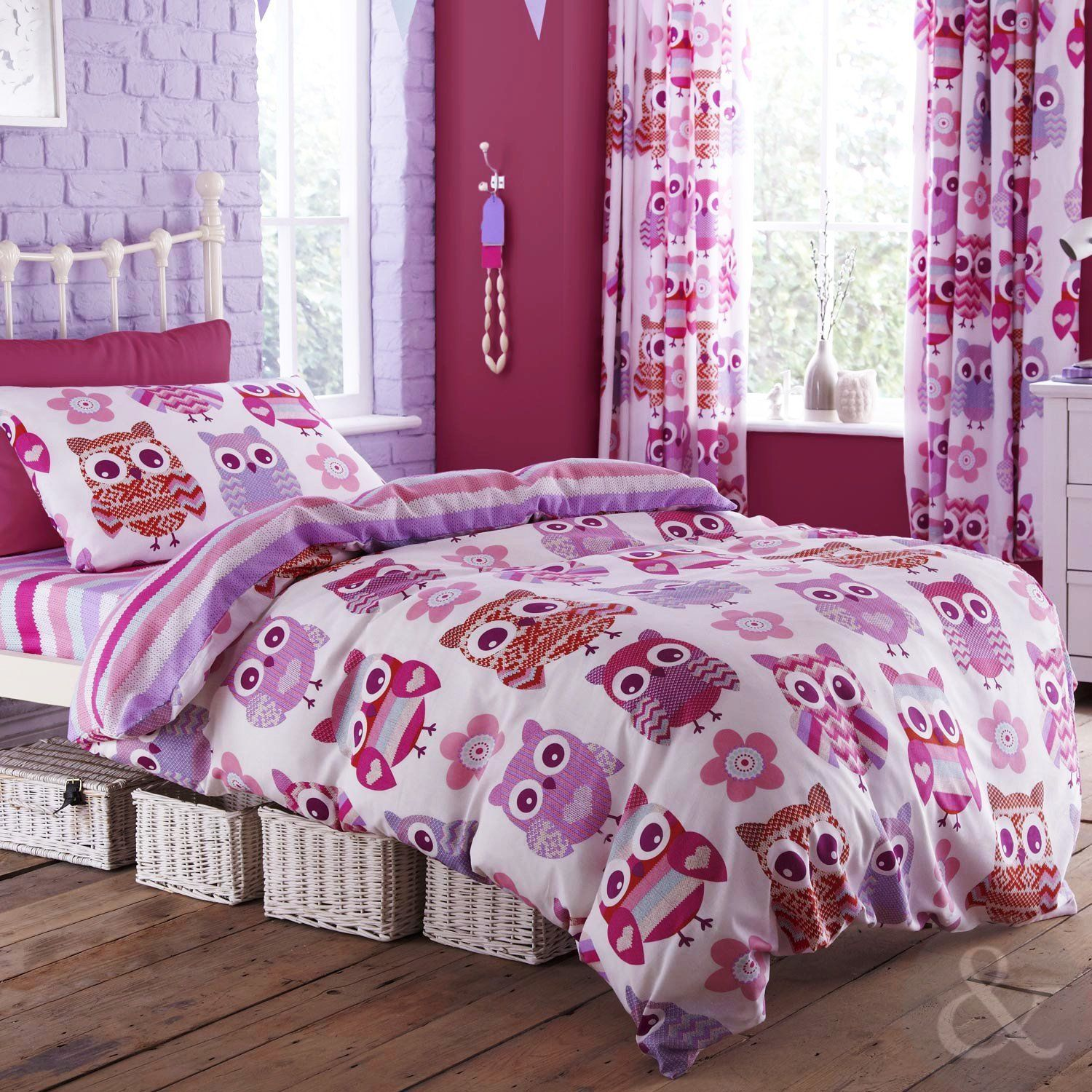 Bedding And Matching Curtains Catherine Lansfield Girls