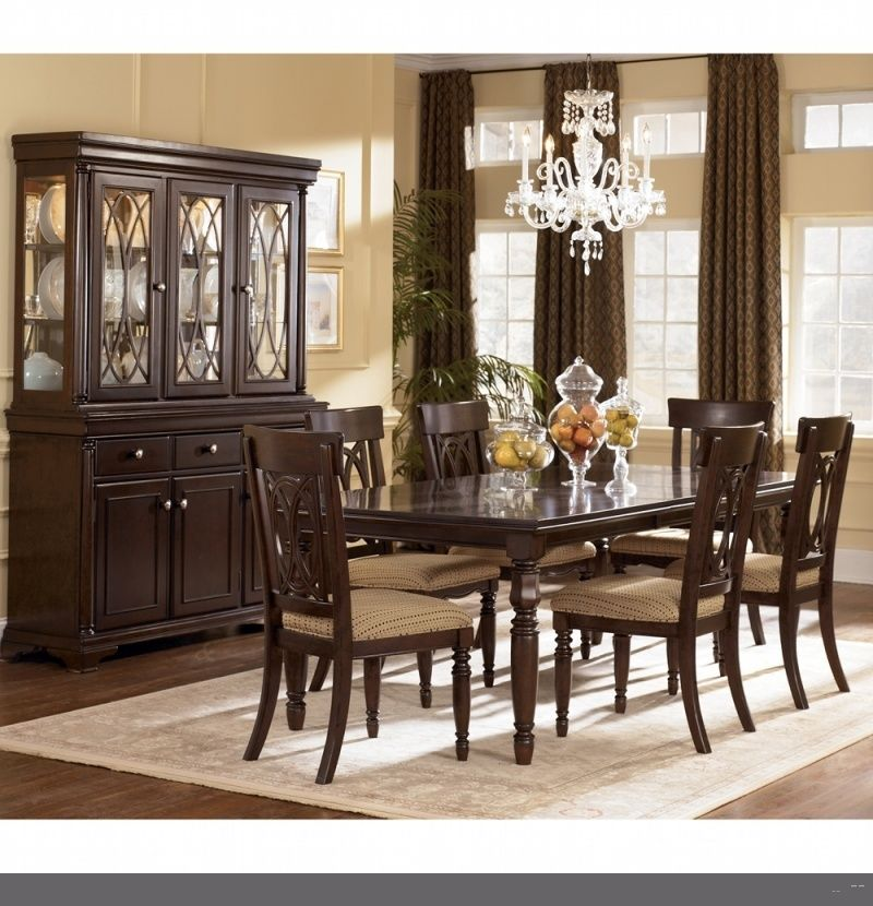 Discount Dining Room Tables How To Find And What To Get  Dining Brilliant Dining Room Sets Ashley Furniture Design Ideas