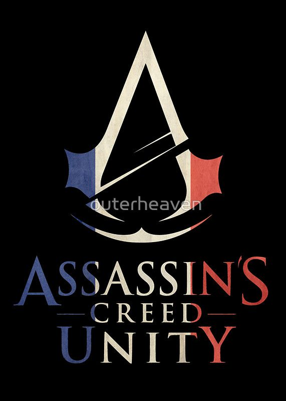Assassin S Creed Unity Flag Of France By Outerheaven Assassins