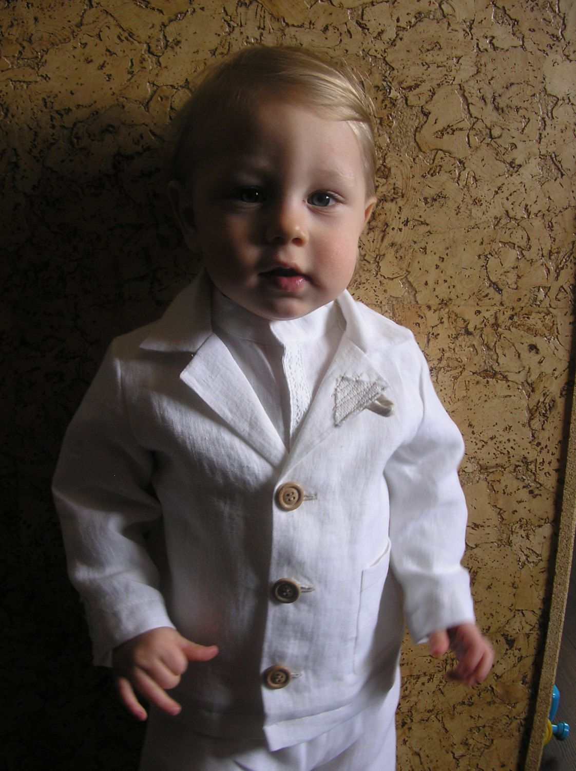 Newborn Boy Linen Clothing Size Select A Size 9 12 Months Baby