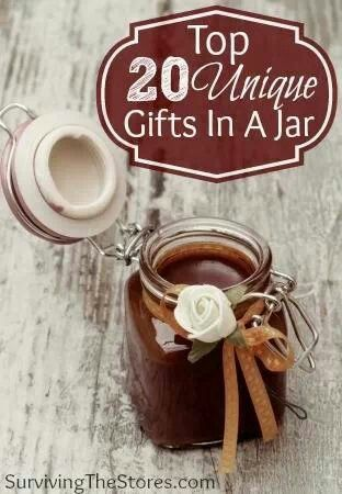 20 gifts in a jar!