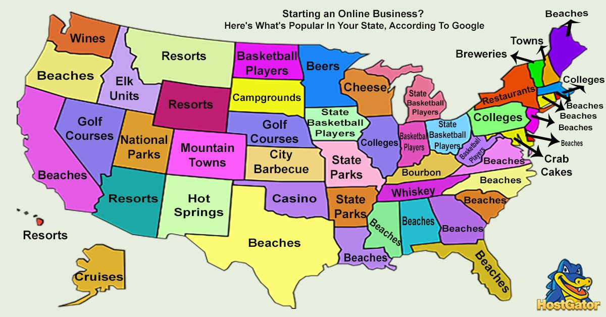 The Best Of Your State According To Google Bored panda and Humor