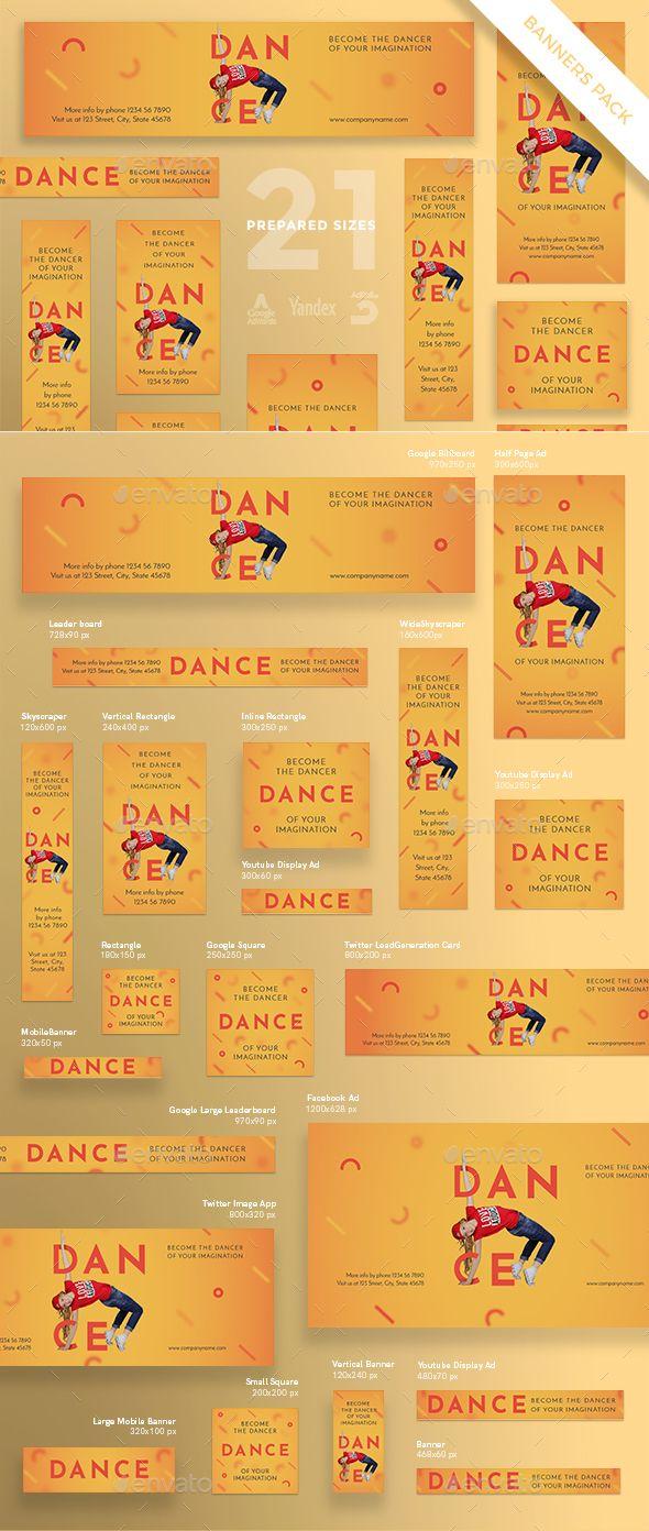 Dancing School Banner Pack School banner, Banner