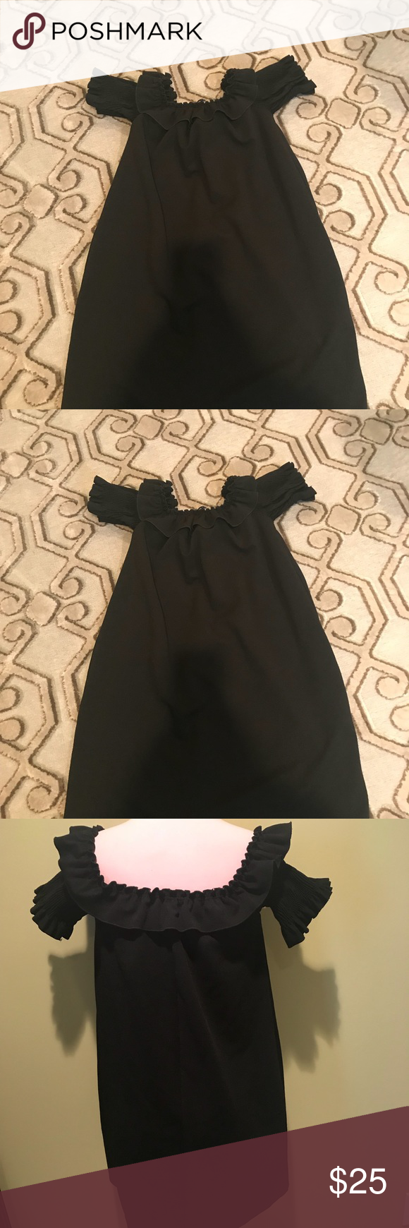 43d2a22030c9 Cute little loose fit dress from Zara Dress is off shoulder that s why  looks bit weird