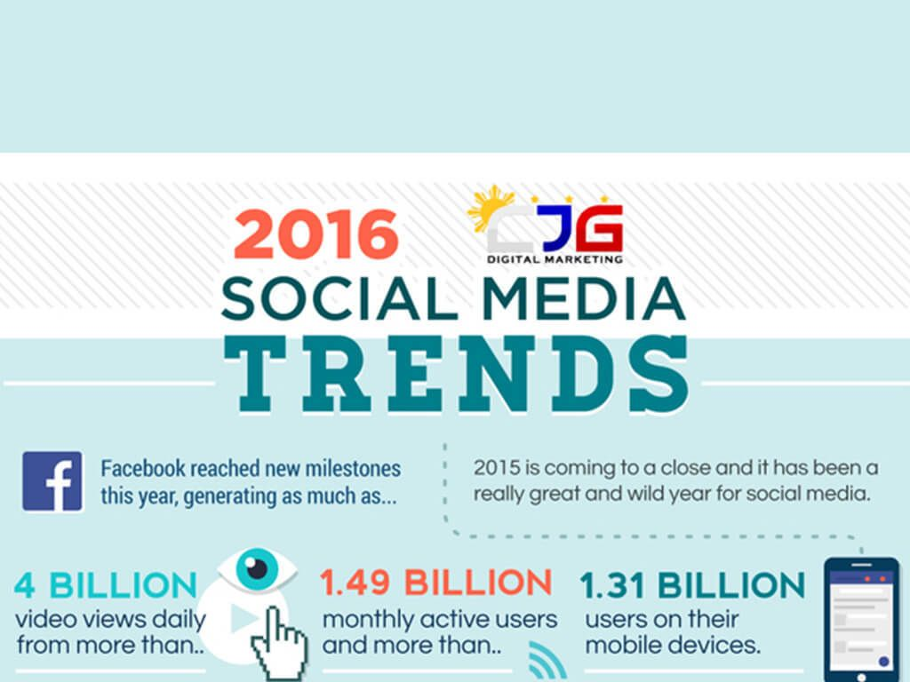 Top 8 Social Media Trends to Watch Out For in 2016 [Infographic] http://churchtechtoday.com/2016/04/18/top-8-social-media-trends-watch-2016-infographic/