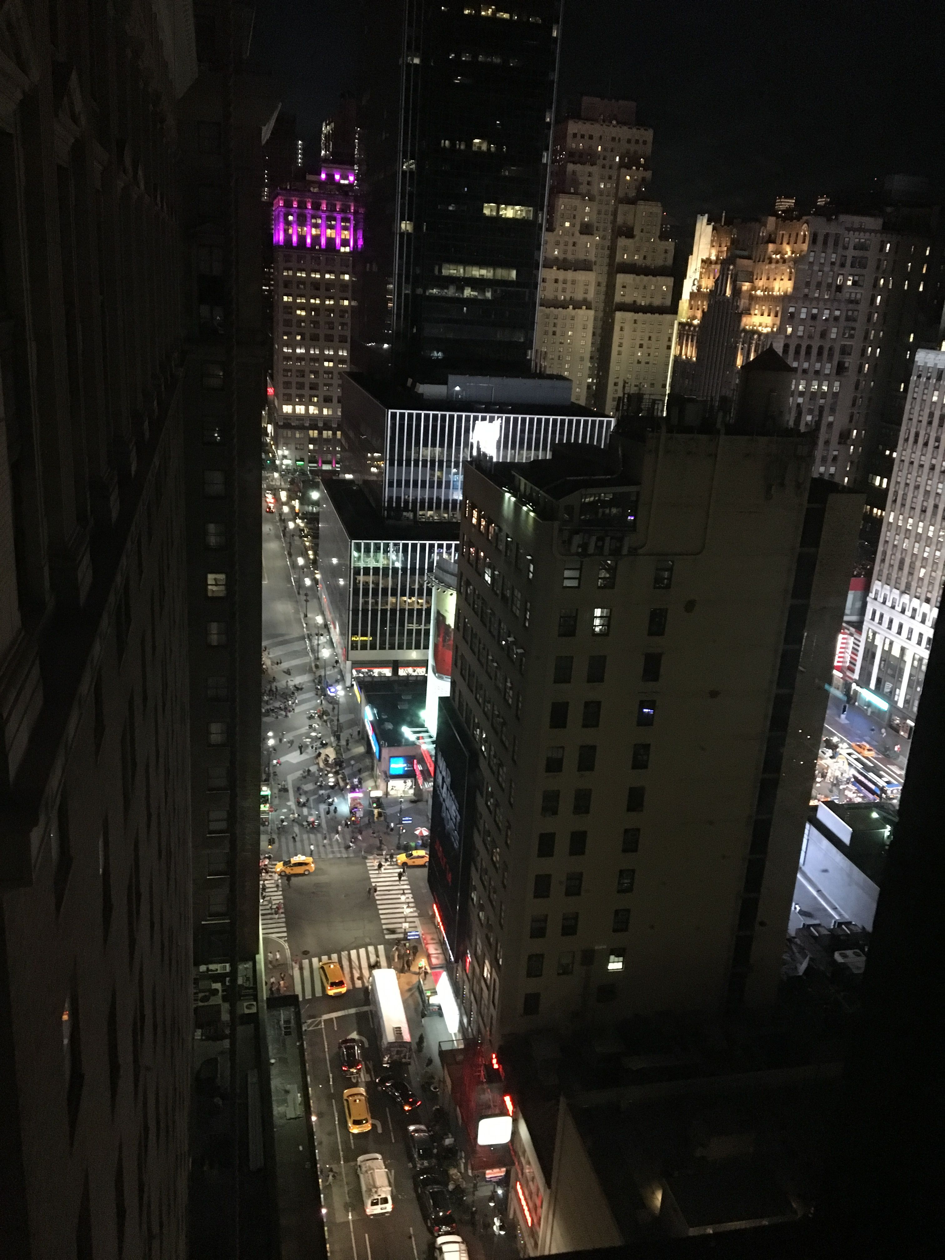View From Hotel Pennsylvania New York City 2017 Hotel Pennsylvania New York City City