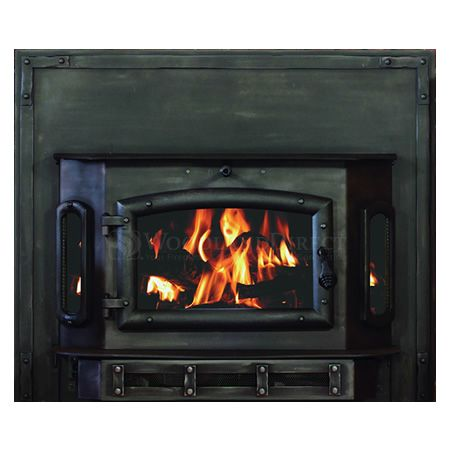 Heritage 2500 Catalytic Wood Stove Insert with Stronghold Surround