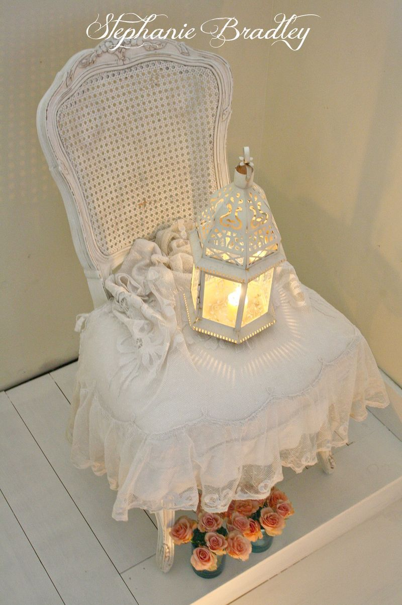 how to add lace to candle holder shabby chic tuturiol