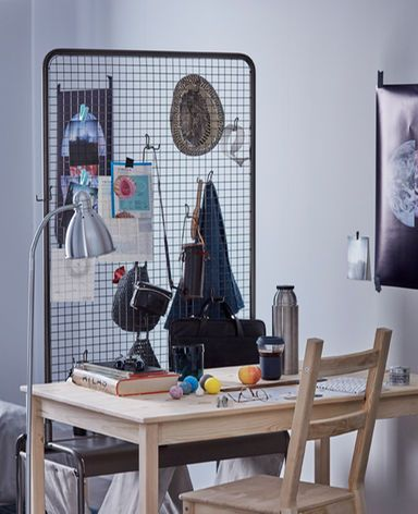 IKEA has lots of cool room dividers for your dorm like VEBERÖD room ...