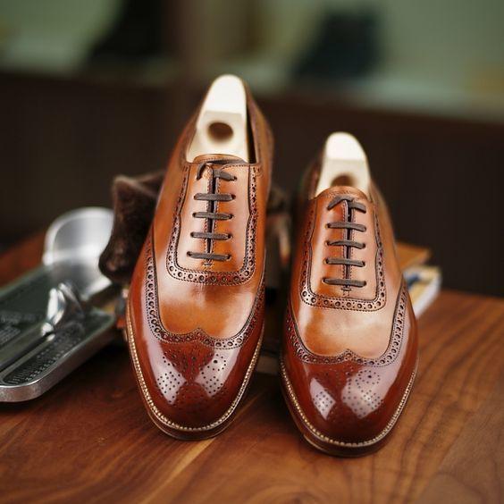 Tendance Chaussures 2017/ 2018 : Très belle paire de Richelieu marron #mode  #look #homme #men #shoes #shoesaddic... - Vogue Tunisie | Maroc | Algérie  ...