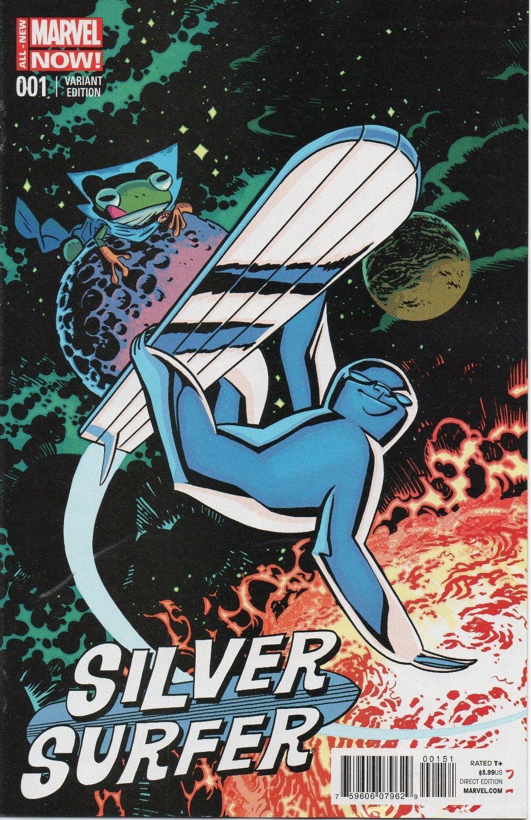 SILVER SURVER #1 CHRIS SAMNEE ANIMAL VARIANT | Silver ...