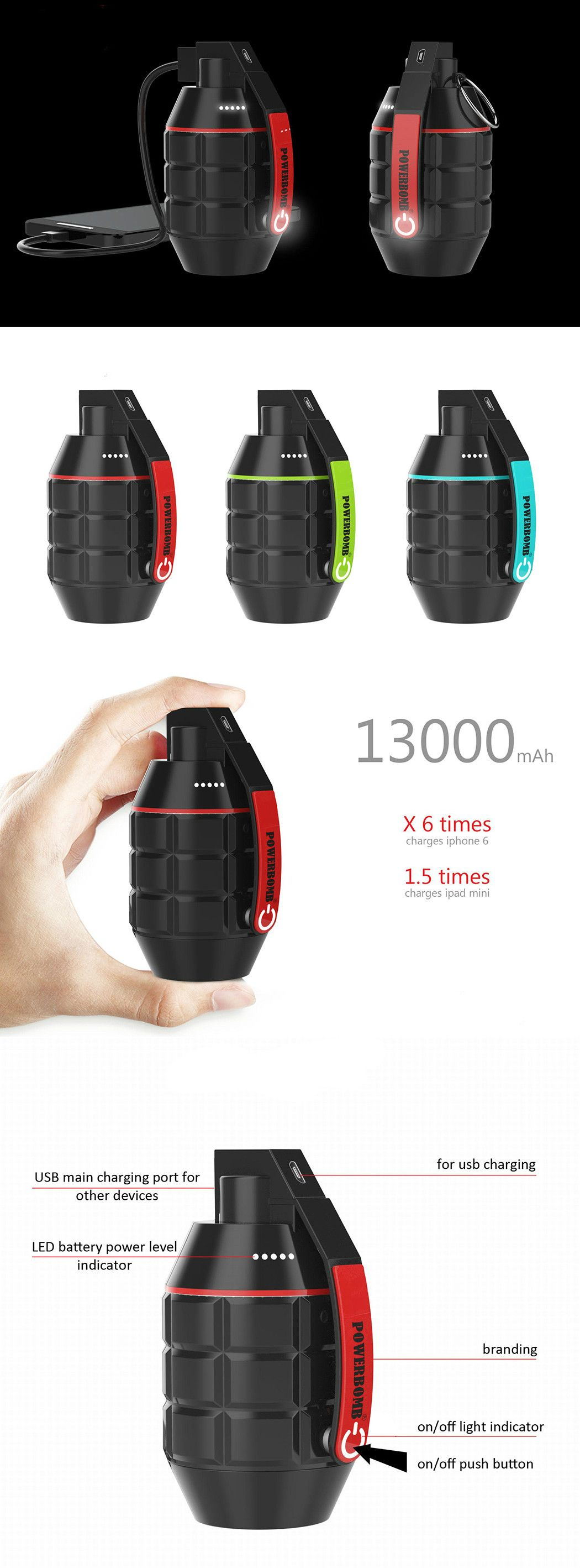 Introducing, innovative charging that's da bomb! It's called Powerbomb and it packs a powerful,…