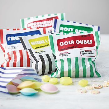 Retro Sweet Club: 3 bags of traditional style sweets delivered each month for 3 or 6 months
